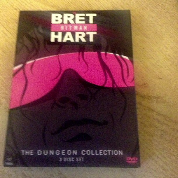 WWE Bret Hart Dungeon Collection DVD