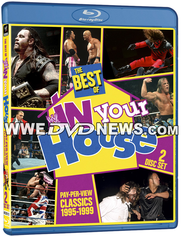 Best of WWE In Your House Blu-ray Cover