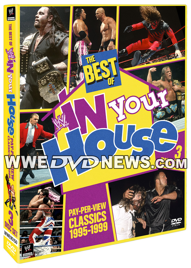 Best of WWE In Your House DVD Cover