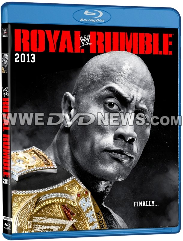 WWE Royal Rumble 2013 DVD Cover