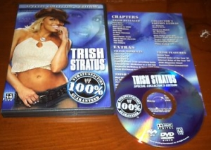 WWE Trish Stratus Collectors Edition DVD Rare
