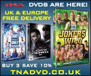 TNA Wrestling DVDs