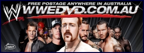 WWE DVD Australia